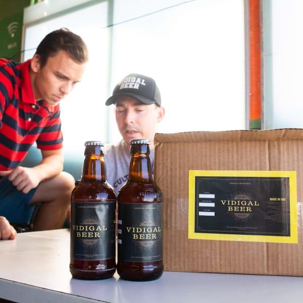 Vidigal Beer local artisanal craft beer Favela Inc incubation program