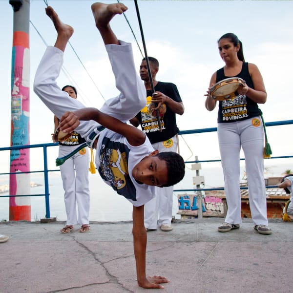 Vidigal Capoeira - Classes to kids and teenagers Favela Inc incubation program